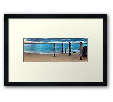 Without Pier Framed Print