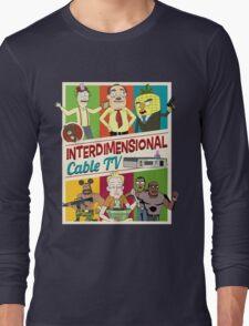 Interdimensional Cable TV Long Sleeve T-Shirt
