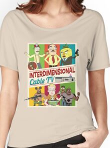 Interdimensional Cable TV Women's Relaxed Fit T-Shirt