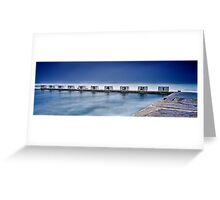 Merewether Baths - Back Blocks Greeting Card
