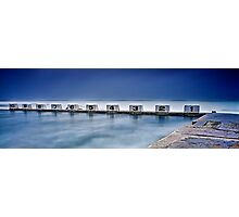 Merewether Baths - Back Blocks Photographic Print