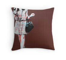 The Higgs Boson God Popsicle. Throw Pillow