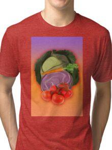 Vegetables 2 / Fruit Shop Tri-blend T-Shirt