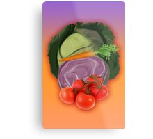 Vegetables 2 / Fruit Shop Metal Print
