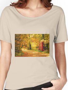 Autumn lane Women's Relaxed Fit T-Shirt