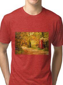 Autumn lane Tri-blend T-Shirt
