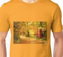 Autumn lane Unisex T-Shirt