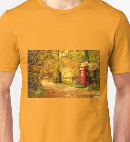 Autumn lane Unisex T-Shirt