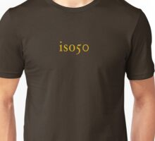 Iso 50 Unisex T-Shirt