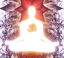 Ananda awakening (Om 002) by Karl David Hill