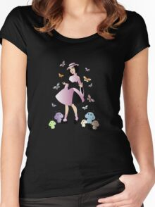 Space Age Lolita Women's Fitted Scoop T-Shirt