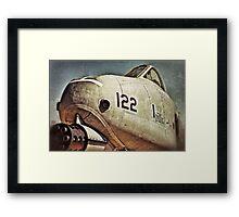 A-10 Warthog Framed Print