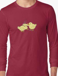 Karate Ducks Long Sleeve T-Shirt