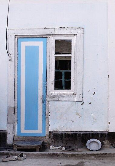 Narrow door narrow window by marjolein katsma redbubble for Narrow window