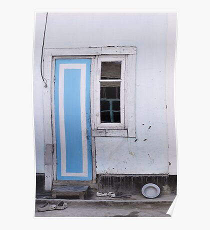 Narrow door, narrow window Poster