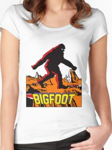 Bigfoot Women's Fitted Scoop T-Shirt