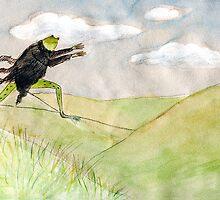 artbook(sketch for a fairy tale about a frog) by Nataliya Stoyanova