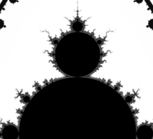 Mandelbrot Sticker