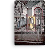 Neighborhood Play Set Canvas Print