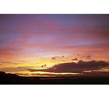 Sunset Dreams. Photographic Print