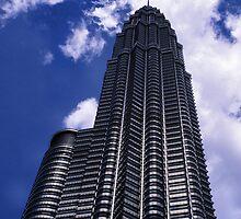 The Petronas towers, Kuala Lumpur, Malaysia. by Phil Bower