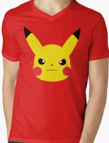 rage pika. Mens V-Neck T-Shirt