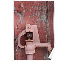 Pink Water Pump Poster