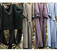 Amish Laundry Photographic Print