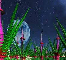 Garden of Alien Delights by AlienVisitor
