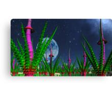 Garden of Alien Delights Canvas Print