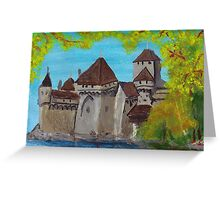 Some Castle, Switzerland Greeting Card