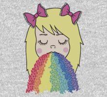 Rainbow Barf One Piece - Long Sleeve