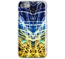 Lightpainting Abstract Symmetry UFA Prints #3 iPhone Case/Skin