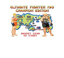 Ultimate Fighter 193 Rousey vs Holm Photographic Print
