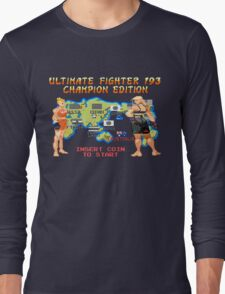Ultimate Fighter 193 Rousey vs Holm Long Sleeve T-Shirt