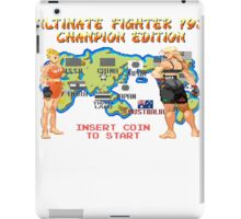 Ultimate Fighter 193 Rousey vs Holm iPad Case/Skin
