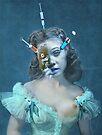 Portrait of a Female Futurist 3. by Andrew Nawroski