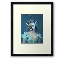 Portrait of a Female Futurist 3. Framed Print