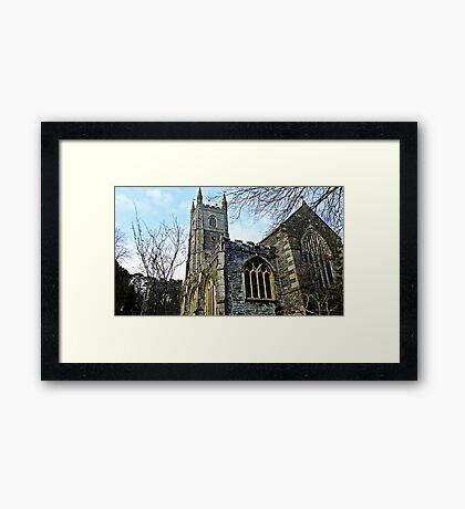 """ A Church with a History"" Framed Print"