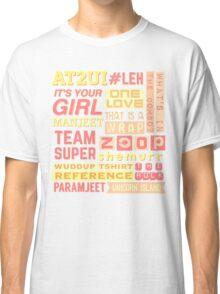 "iisuperwomanii ""retro"" collage Classic T-Shirt"