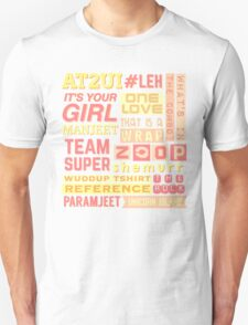 "iisuperwomanii ""retro"" collage Unisex T-Shirt"