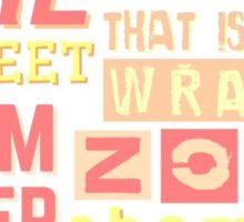 "iisuperwomanii ""retro"" collage Sticker"