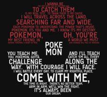 Pokemon Typography