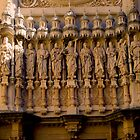 The Facade of the Basilica on Montserrat. by Sue Ballyn