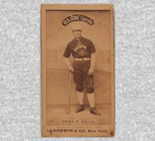 Benjamin K Edwards Collection Emil Geiss Chicago White Stockings baseball card portrait Baby Tee