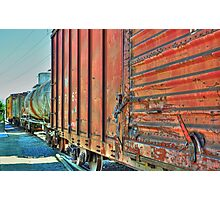 Rolling Stock Grapevine, TX  Photographic Print