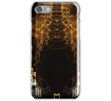 Lightpainting Abstract Symmetry UFA Prints #5 iPhone Case/Skin