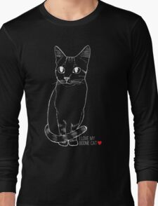 Sketchy Boonie Cat Long Sleeve T-Shirt