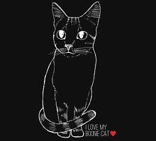 Sketchy Boonie Cat Women's Fitted Scoop T-Shirt
