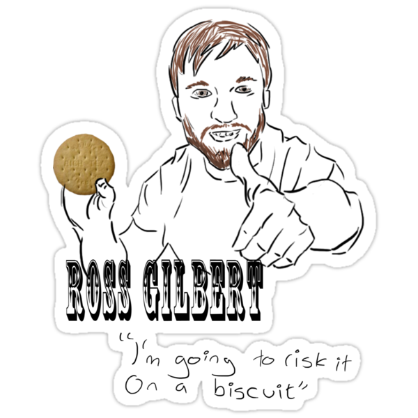 Ross Gilbert - Risk it on a biscuit by eevilmurray